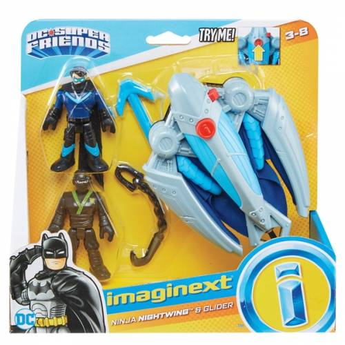 Imaginext DC Super Friends Ninja Nightwing & Glider