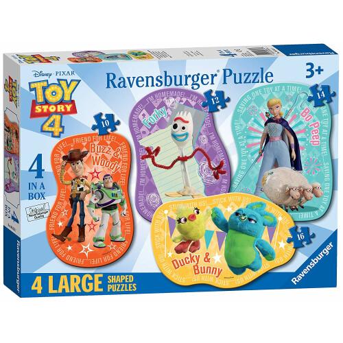 Ravensburger 4 Large Shaped Puzzles Toy Story 4