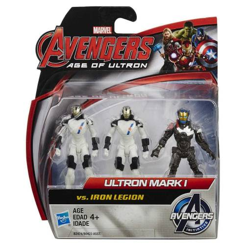 Marvel Avengers Age Of Ultron - Ultron Mark I vs. Iron Legion