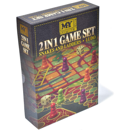 Traditional Games - 2 in 1 Game Set