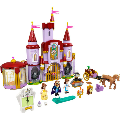 Lego 43196 Disney Princess Belle and the Beast's Castle