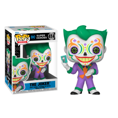 Funko Pop Vinyl - DC Super Heroes - The Joker 414