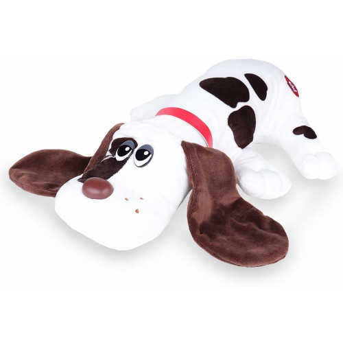 Pound Puppies Classic 17 Inch - White with Brown Spots