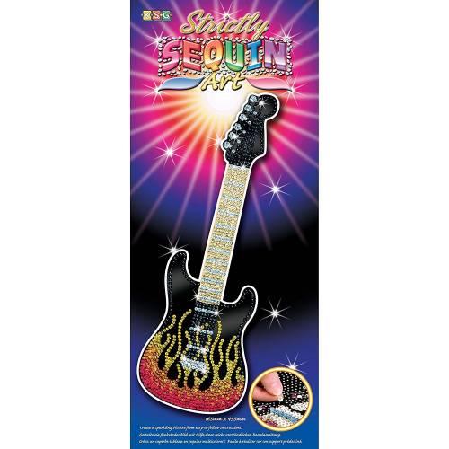 Sequin Art Ltd. Strictly Sequin Art Guitar 1408