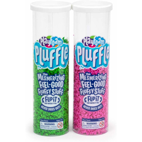 Playfoam Pluffle 2 Pack - Pink & Green