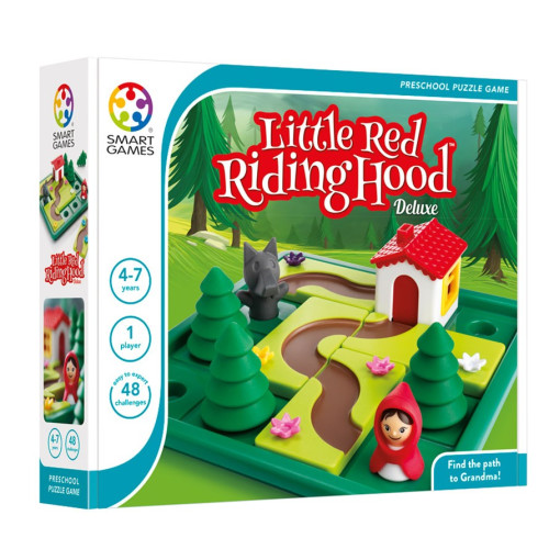 Preschool Puzzle Game - Little Red Riding Hood Deluxe