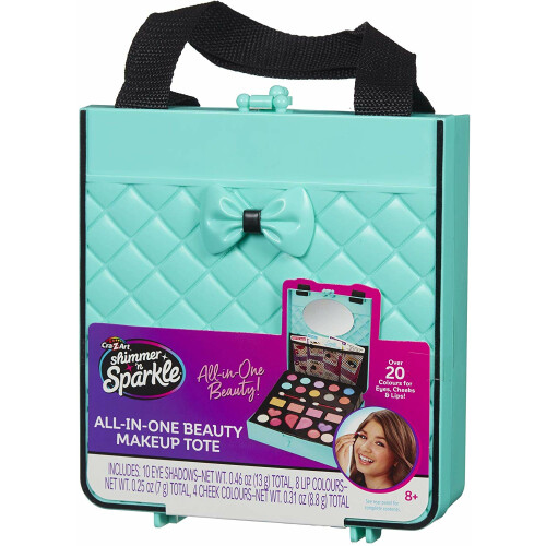 Shimmer 'n Sparkle All-In-One Beauty Makeup Tote