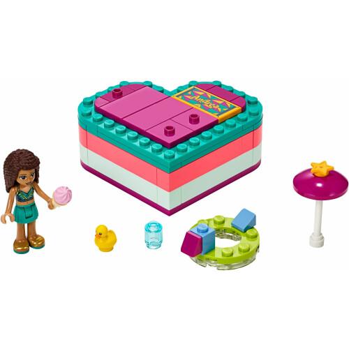 Lego 41384 Friends Summer Heart Box - Andrea