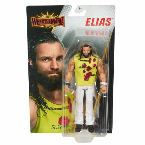 WWE Action Figure - Wrestlemania - Elias