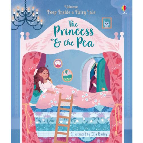 Usborne Books - Peep Inside a Fairy Tale The Princess & the Pea