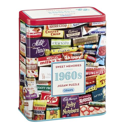 Gibsons Sweet Memories 60's 500pc Puzzle