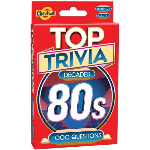 Top Trivia Decades 80s