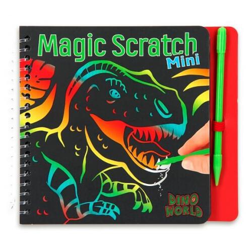Dino World Mini Magic Scratch