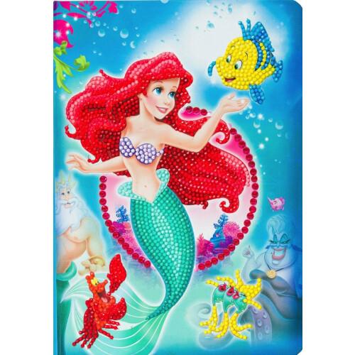 Crystal Art Disney Notebook Kit - The Little Mermaid