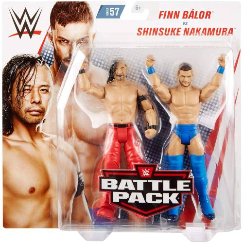 WWE Battle Pack - Series #57 - Finn Balor VS Shinsuke Nakamura