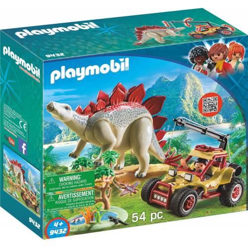 Playmobil 9432 Explorer Vehicle with Stegosaurus