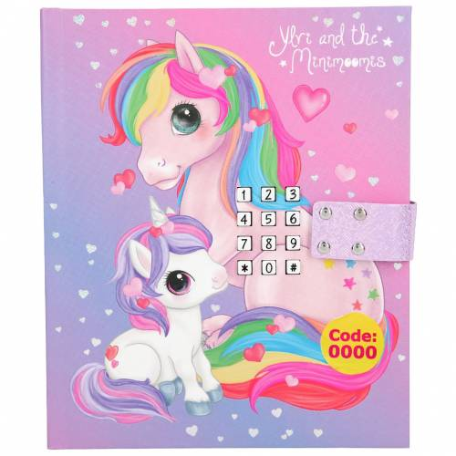Depesche Ylvi & the Minimoomis Musical Light Up Diary with Code