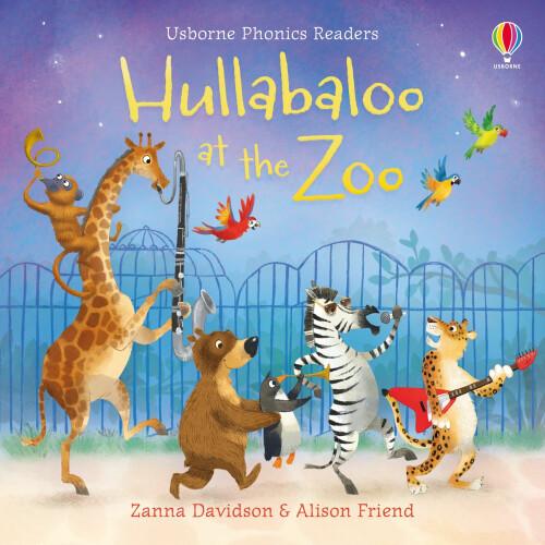 Usborne Books - Hullabaloo at the Zoo