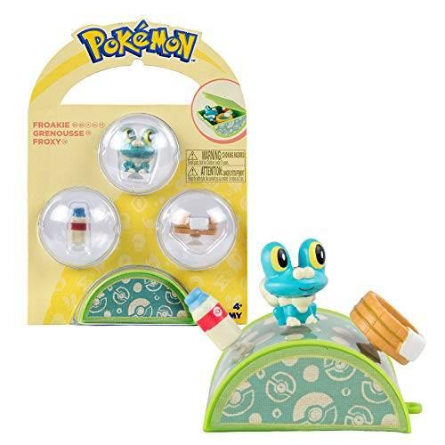 Pokemon Petite Pals Playset - Froakie
