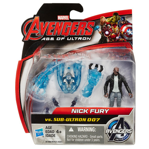 Marvel Avengers Age Of Ultron - Nick Fury vs. Sub-Ultron 007