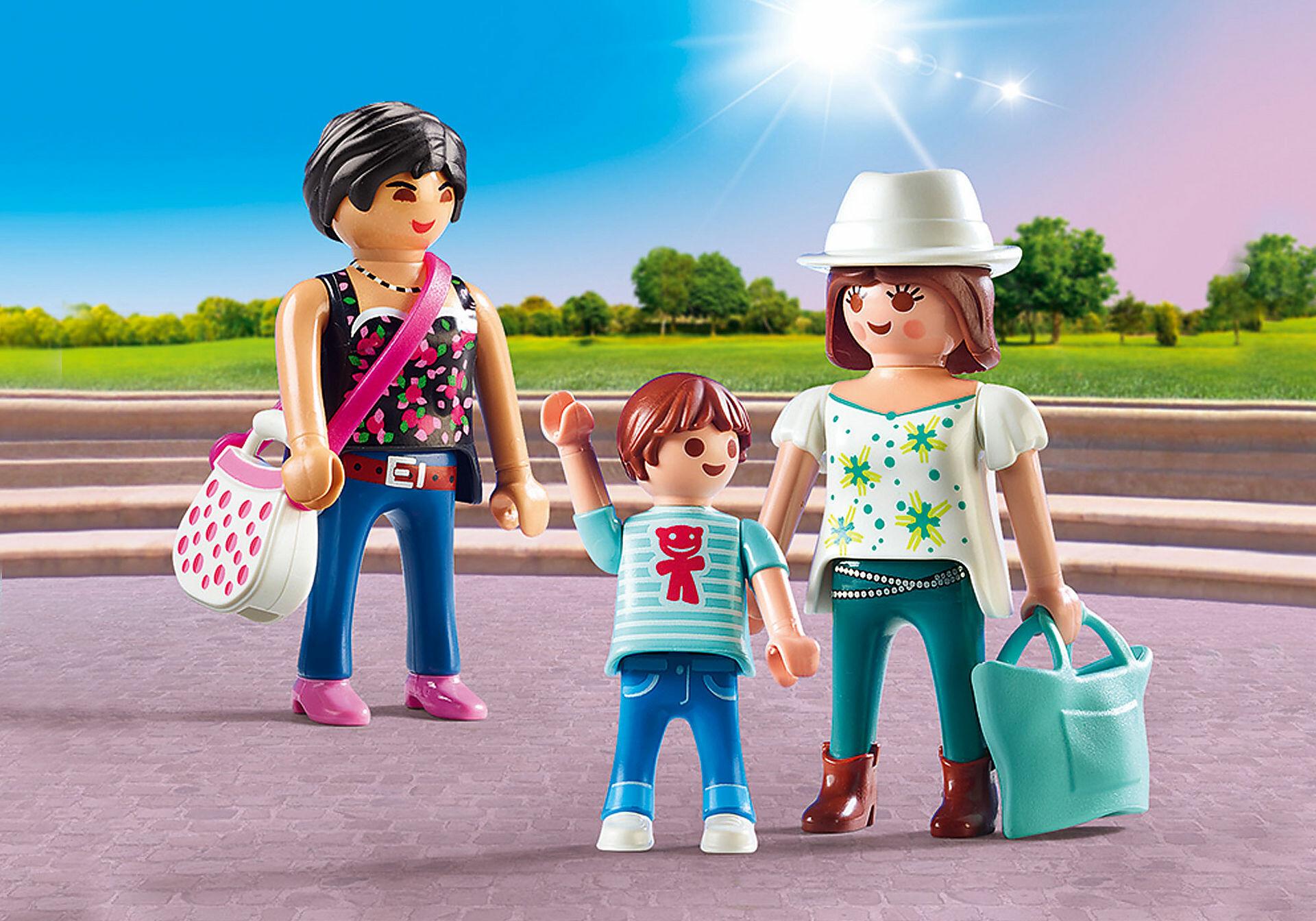 playmobil 9405 city life shoppers  toys n tuck