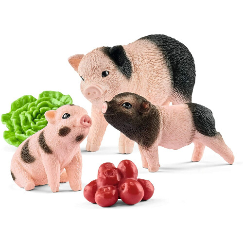 Schleich Farm Life 42422 Miniature Pig Mother And Piglets