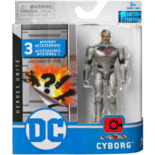 DC Comics 4 Inch Figure - Cyborg