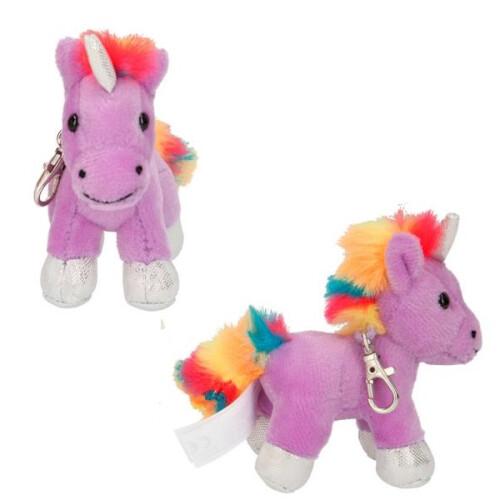 Depesche Ylvi & the Minimoomis Purple Unicorn Plush Clip-on