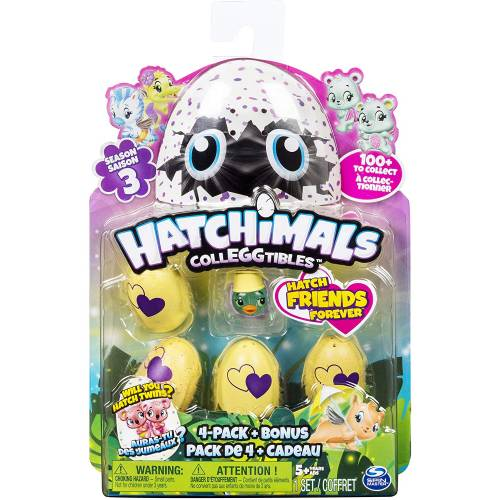 Hatchimals Colleggtibles - Season 3 - 4-Pack + Bonus