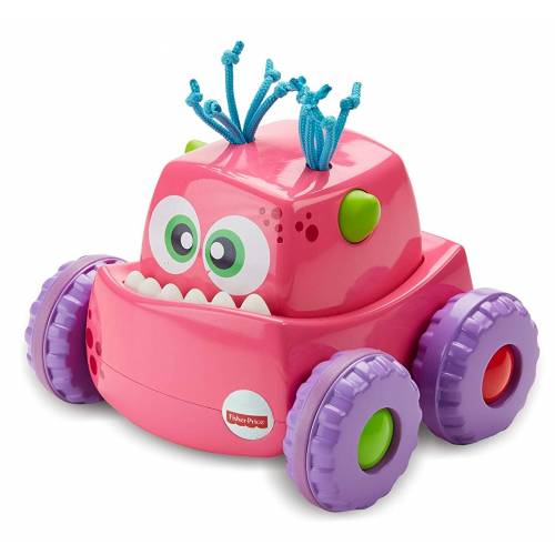 Fisher Price Press 'n Go Monster Truck - Pink