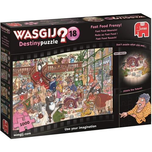 Wasgij? Destiny 18 1000pc Jigsaw Puzzle Fast Food Frenzy!