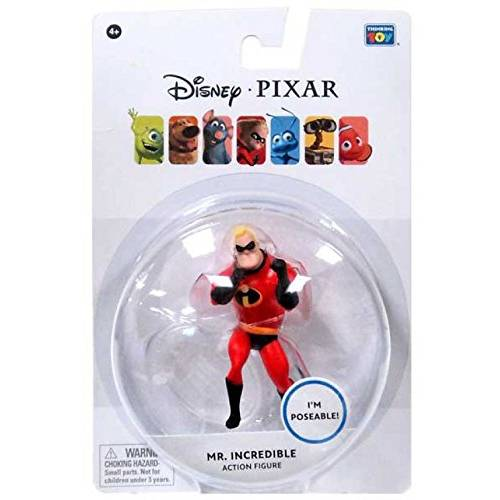 Disney Pixar Poseable Action Figure - Mr Incredible