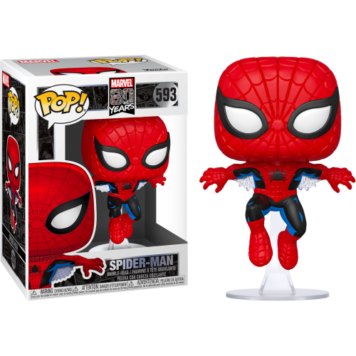 Funko Pop Vinyl - Marvel 80 Years - Spider-man 593