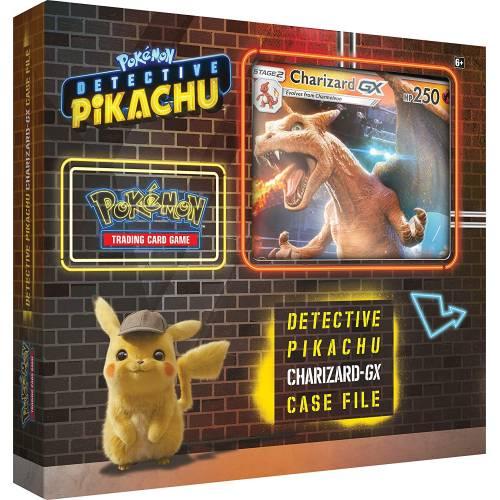 Pokemon TCG Detective Pikachu Charizard GX Case File