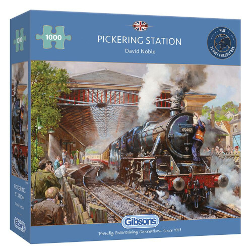 Gibsons Pickering Station 1000pc Puzzle