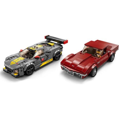 Lego 76903 Speed Champions Chevrolet Corvette 1968 and C8.R Race Car