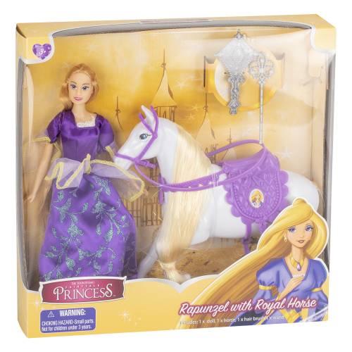 Fairytale Princess - Rapunzel with Royal Horse