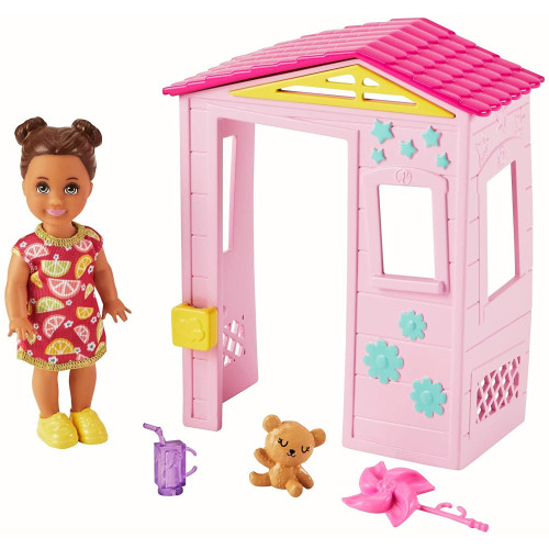 Barbie Skipper Babysitters INC Playhouse Playset