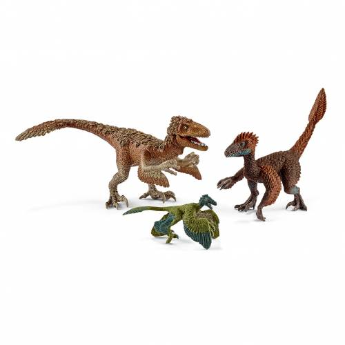 Schleich Dinosaurs 42347 Feathered Raptors