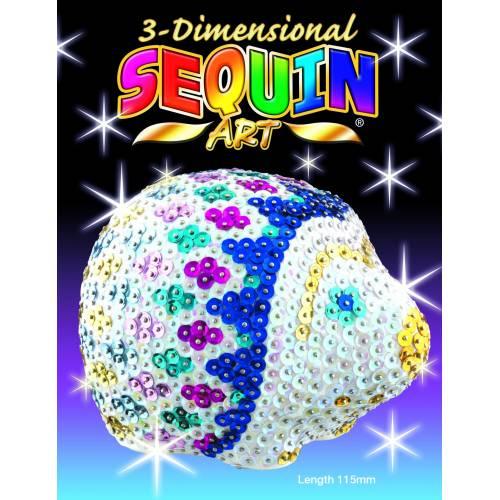Sequin Art 3D 1703 Hedgehog