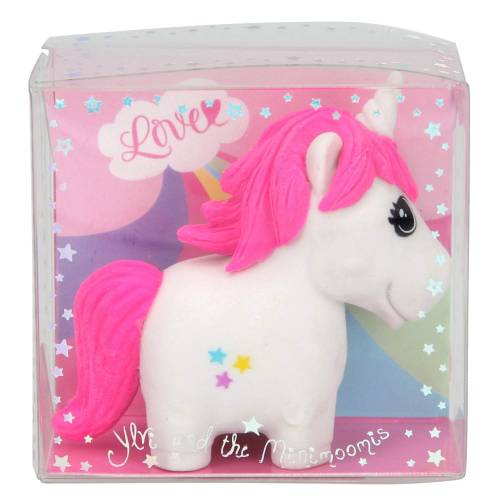 Depesche Ylvi & the Minimoomis Unicorn Eraser - White