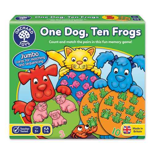 Orchard One Dog, Ten Frogs