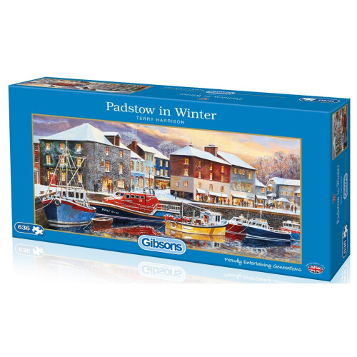 Gibsons Padstow in Winter 636pc Puzzle