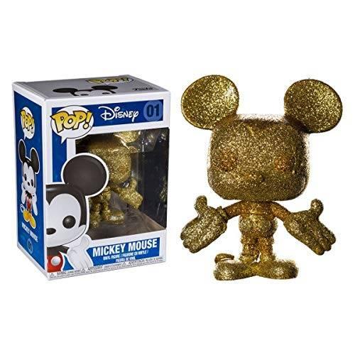 Funko Pop Vinyl Mickey Mouse 01 Glitter Gold