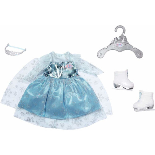 Baby Born Princess on Ice Outfit