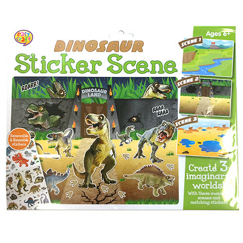 Kreative Kids - Dinosaur Sticker Scene