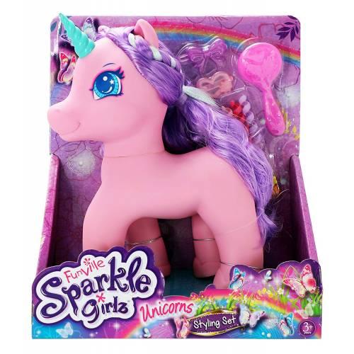 Sparkle Girlz Unicorns Styling Set