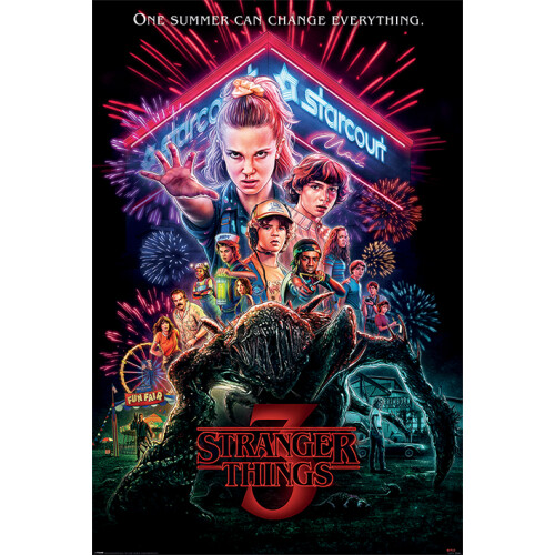 Maxi Posters - Stranger Things (Summer of 85)