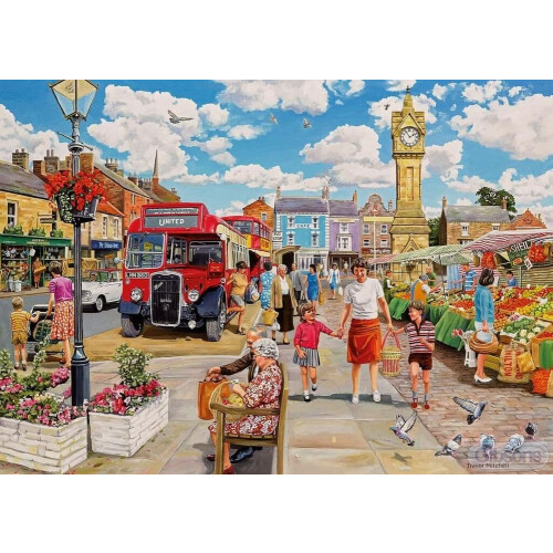 Gibsons 1000 Piece Jigsaw Puzzle - Clocktower Market