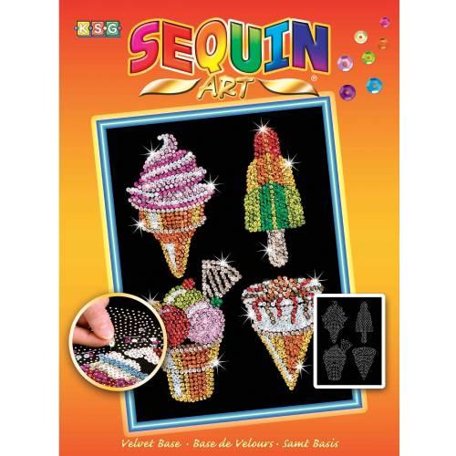Sequin Art Ltd. Sequin Art Orange Ice Creams 1504